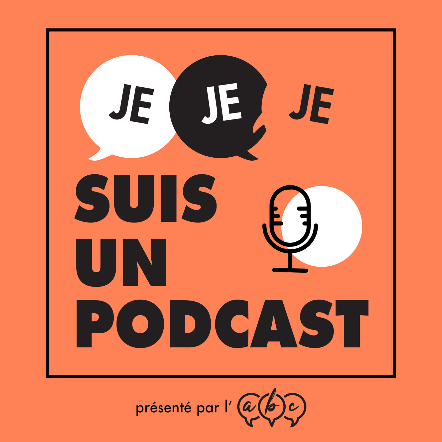 Podcast logo orange